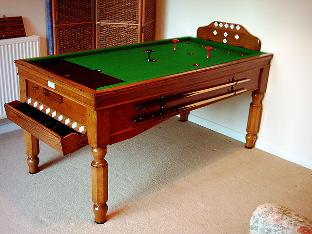 Antique Bar Billiard Tables Bar Billiard Table Experts Hubble Sports - Bar and pool table near me