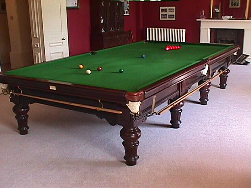 Above Are A Selection Of Our Full Size Snooker Tables.