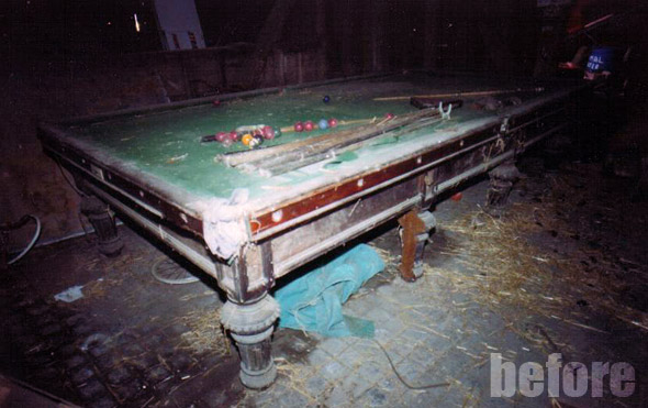 Billiard Snooker Pool Table Repair